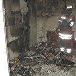 Ausgedehnter Zimmerbrand